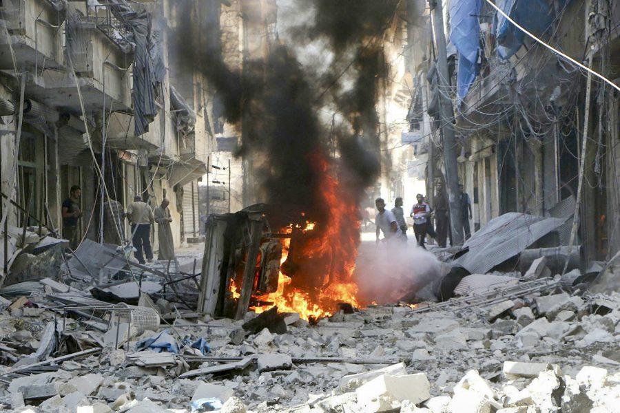 Syriska civilförsvaret/AP/TT.