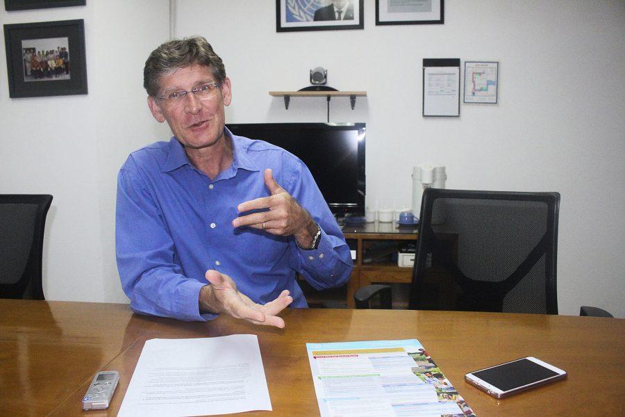 Kanis Dursin/IPS   Jordarna skyddas och skördarna blir större med hållabart jordbruk, menar Mark Smulders, FAOs representant i Indonesien.