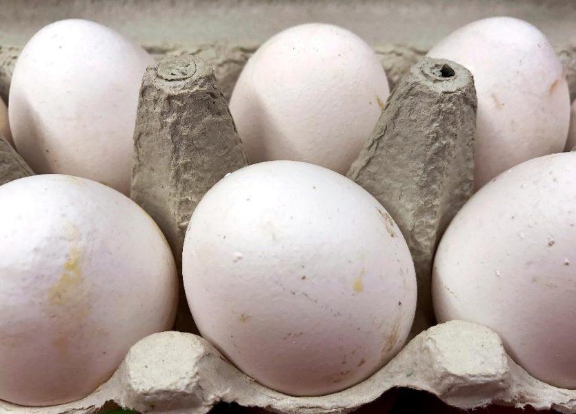 Michael Probst/AP   Äggen som skandalen handlar om är kontaminerade med bekämpningsmedlet fipronil.