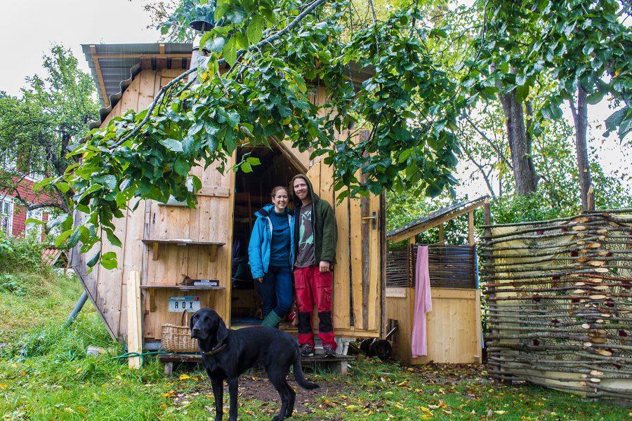 Ida Lokland | Eliza och David blev tillsammans efter att ha träffats i USA.