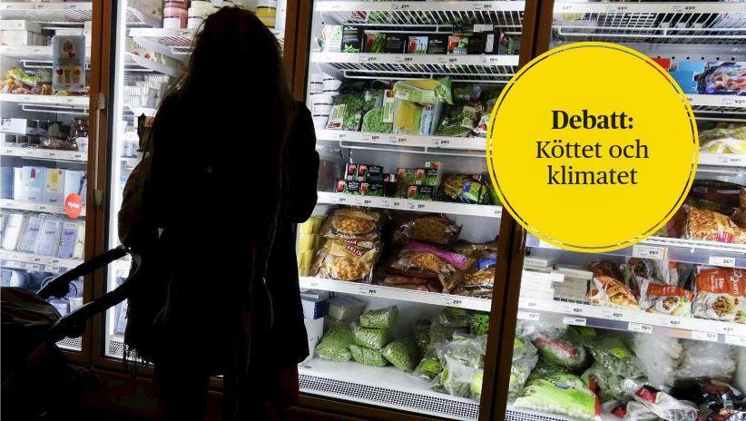 Hasse Holmberg/TT  Anna Richert på WWF uppmanar alla läsare att själva fundera på hur de skulle vilja ta itu med matens klimatpåverkan.