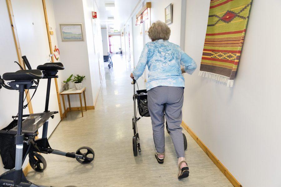 Gorm Kallestad/NTB Scanpix/TT | Fram till 2026 kommer ungefär 25000 fler att behöva plats på särskilt boende, enligt regeringen.