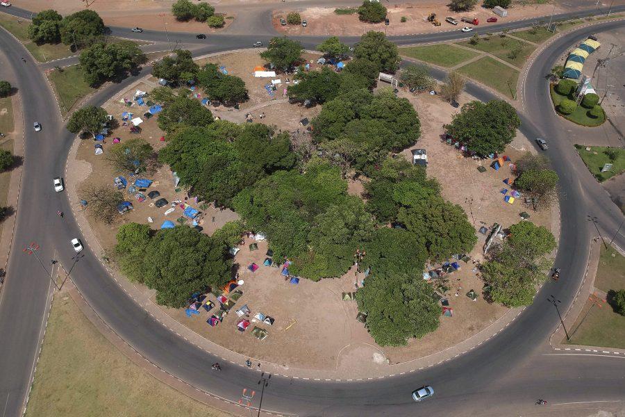 Eraldo Peres/AP  Den brasilianska delstaten Roraima säger att den inte kan ta hand om fler flyktingar från Venezuela.