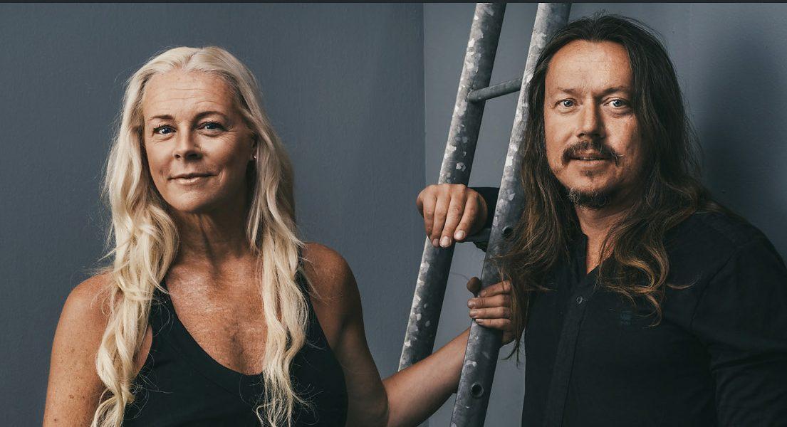 Malena Ernman och Svante Thunberg.