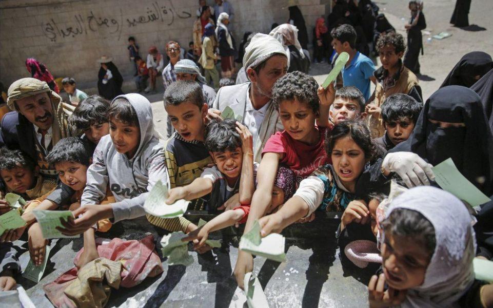 Hani Mohammed/TT  Tusentals civilia har dödats i striderna i Jemen.