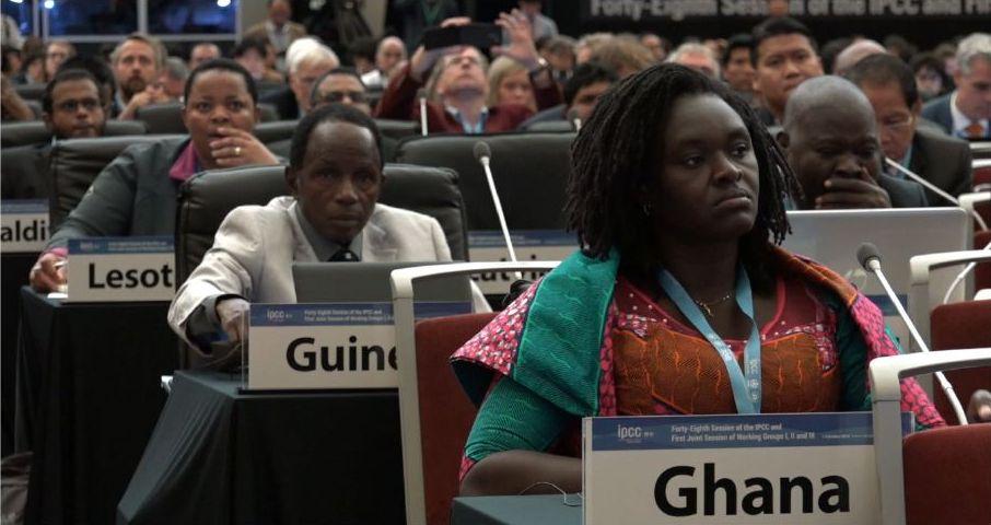 IPCC  Regeringsrepresentanter från olika länder deltar i klimatförhandlingarna i Seoul.