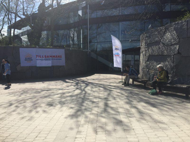 Benita Eklund  I maj anordnades en klimatriksdag där det bland annat beslutades om att försöka driva igenom en folkbildningskampanj om klimatet.