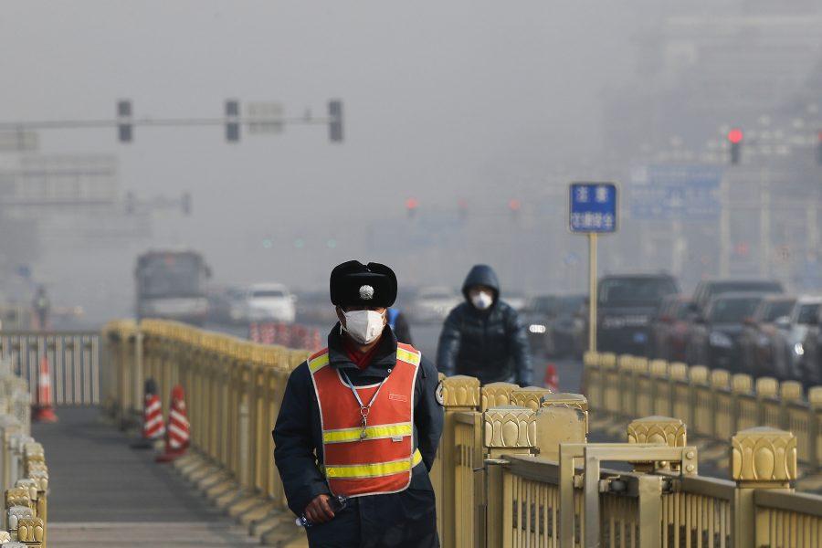 Andy Wong/AP/TT |Vilken väg Kina tar de närmaste åren har stor betydelse för om 1,5-gradersmålet ska kunna nås.
