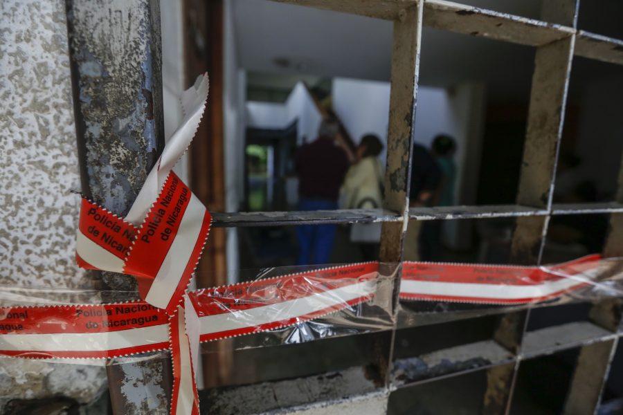 Polis har slagit till mot flera nicaraguanska medier den senaste tiden.