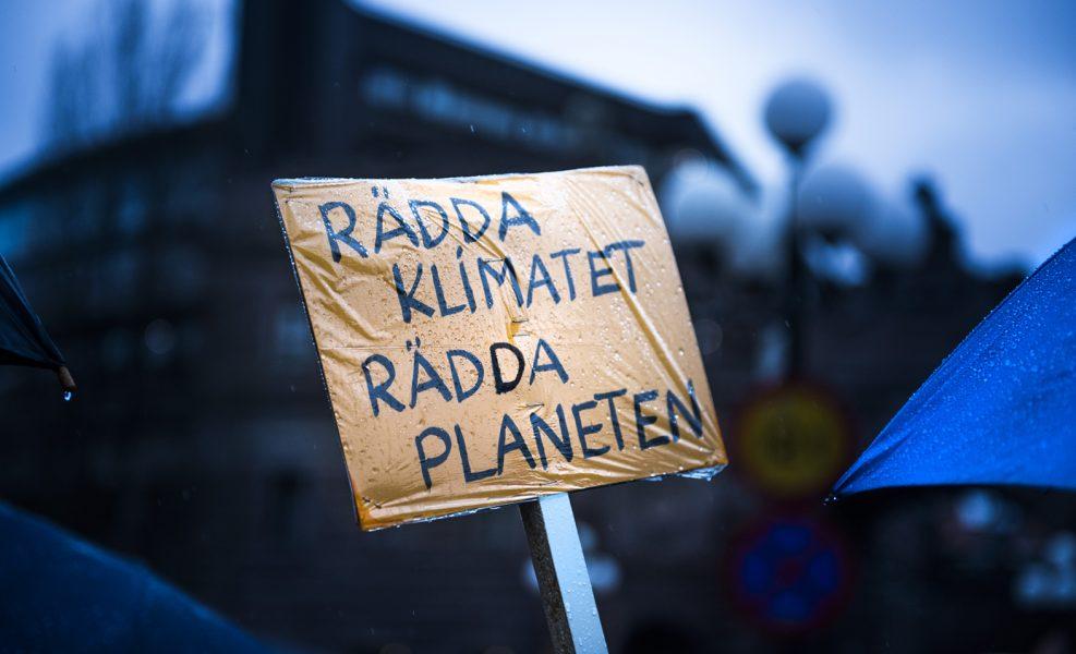 Under fredagen planerades manifestationer i över hundra svenska städer för uppmärksamhet kring klimatfrågan.