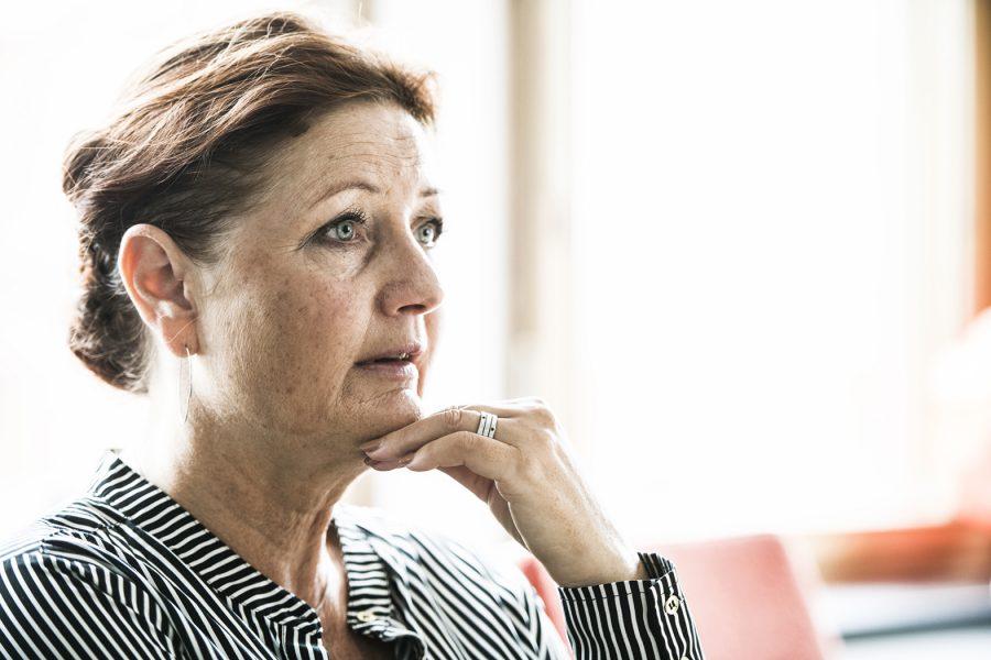 Marie Nilsson, ordförande för IF Metall, har haft det jobbigt inför kompromissen.