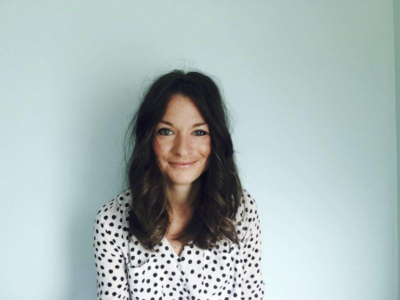 Stephanie Thögersen, festivalchef på Stockholms feministiska filmfestival .