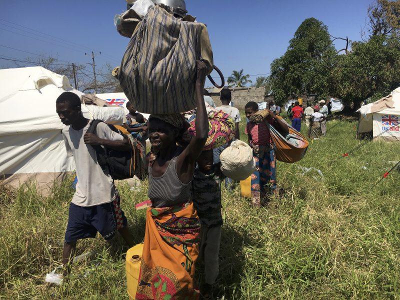 Den tropiska stormen Idai slog till mot Beira i Moçambique den 14 och 15 mars och uppges ha förstört 90 procent av staden.
