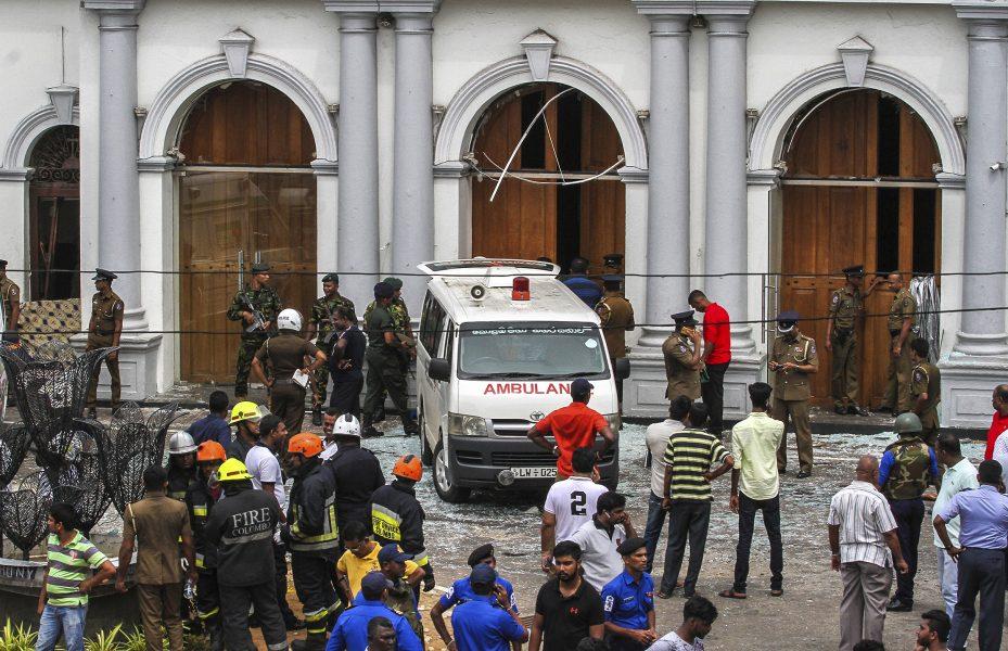 Under måndagen inträffade ytterligare en explosion vid kyrkan S:t Anthony i Colombo.