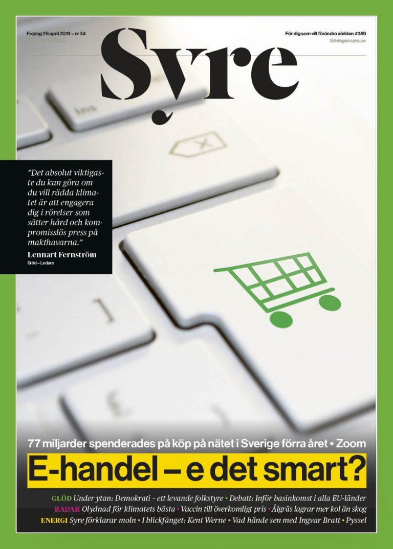 2dd28ec4805d Växande e-handel - Nyhetsmagasinet Syre
