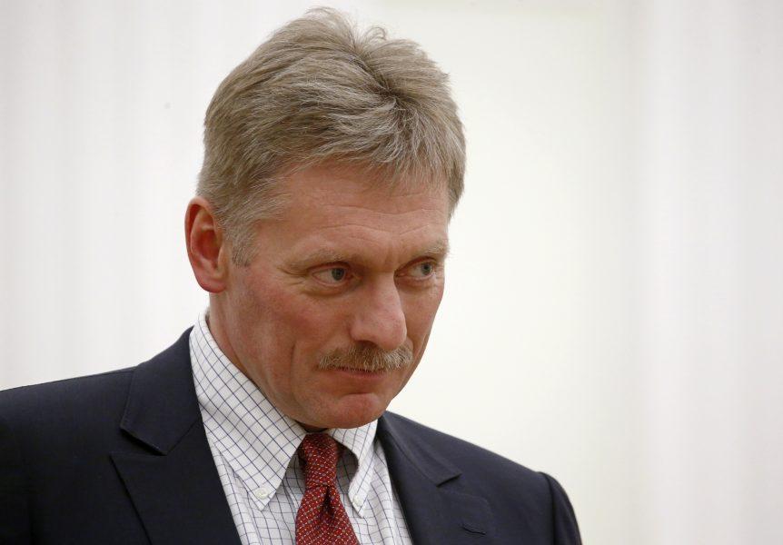 Dmitrij Peskov är talesperson för Rysslands president Vladimir Putin.