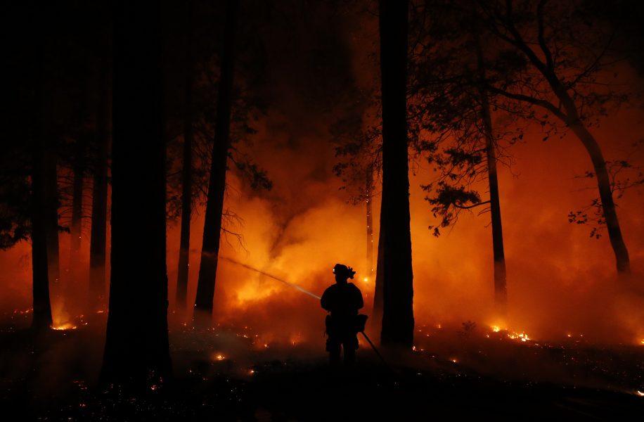 Risken för skogsbränder ökar i och med det soliga vårvädret.