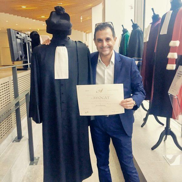 Arash Derambarsh är en fransk domare och politiker som har kämpat för att minska matsvinet.