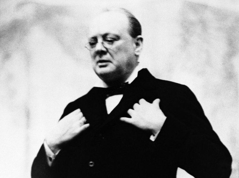 Den brittiske premiärministern Winston Churchill på en bild från 1930-talet.
