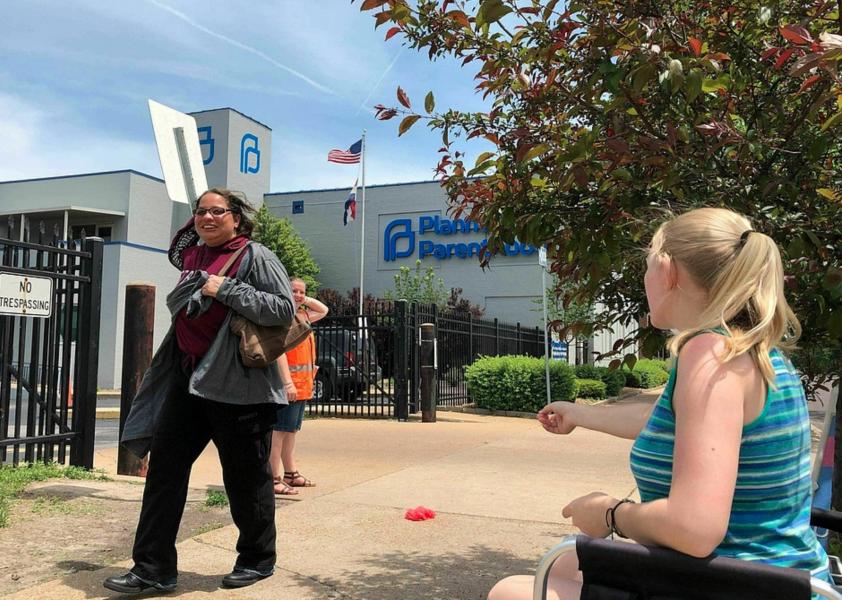 Foto: Jim Salter/AP/TTPlanned Parenthoods klinik i St Louis.