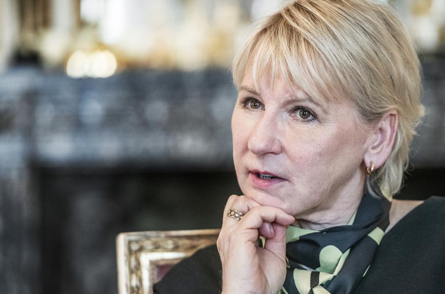 Foto: Tomas Oneborg/SvD/TTUtrikesminister Margot Wallström (S).