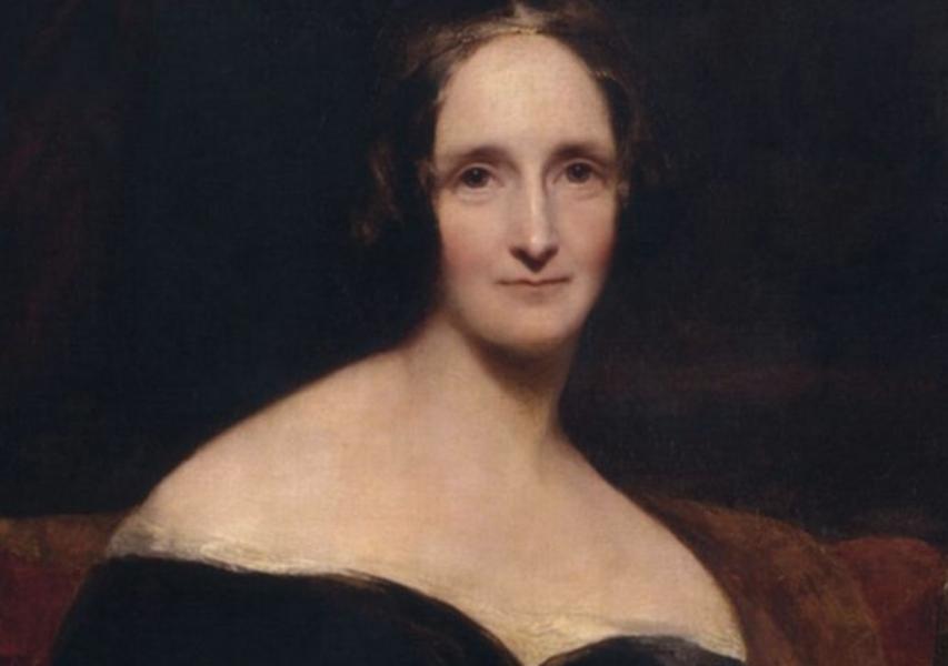 Mary Shelley, 1797–1851.