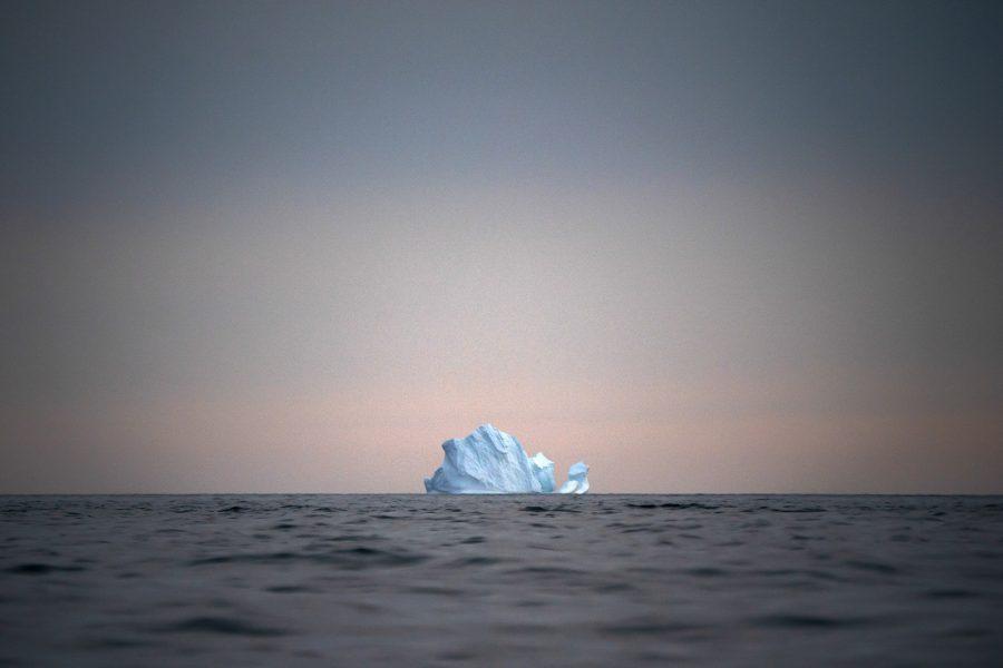 Isberg utanför Grönland.