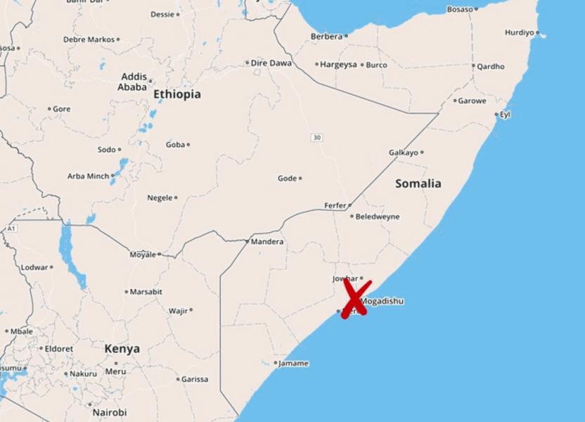 Flera har dött i anfallet mot ett hotell i Mogadishu.