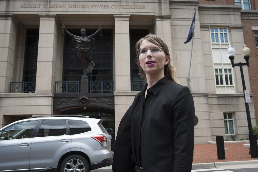 Tidigare underrättelseanalytikern Chelsea Manning.