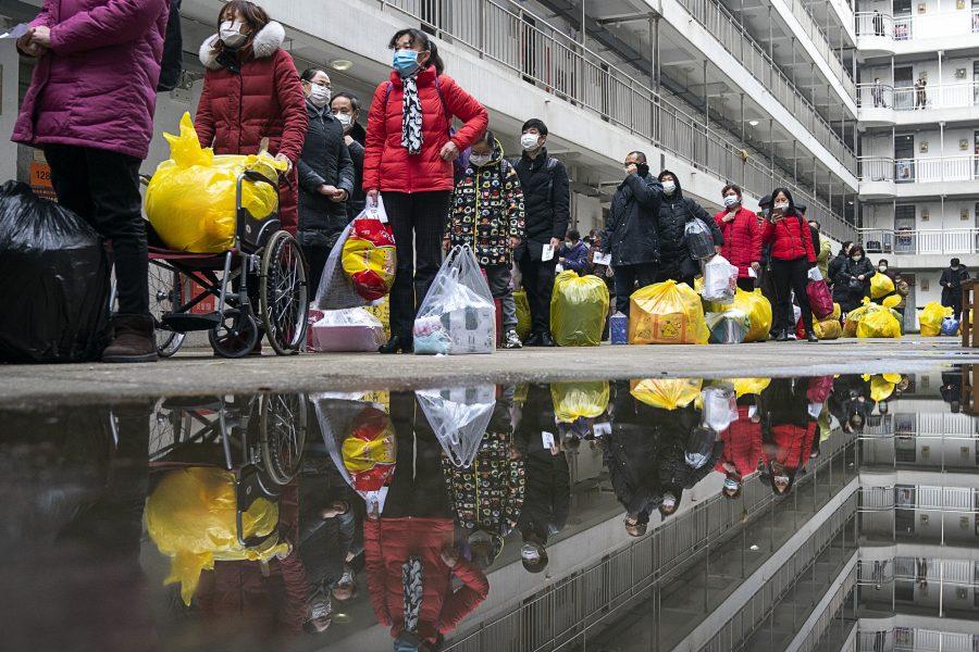 Coronautbrottet i Kina har passerat kulmen, enligt hälsodepartementet.