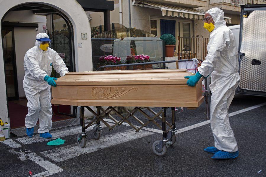 I Italien har nu fler människor dött av covid-19 än i Kina.