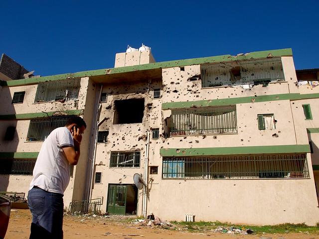 Striderna i Libyen fortsätter.