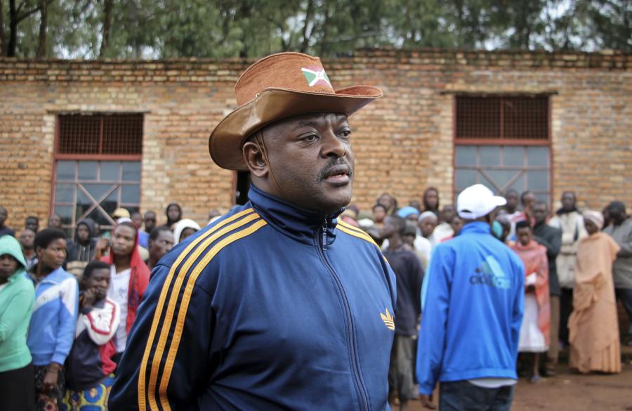 Burundis president Pierre Nkurunziza.