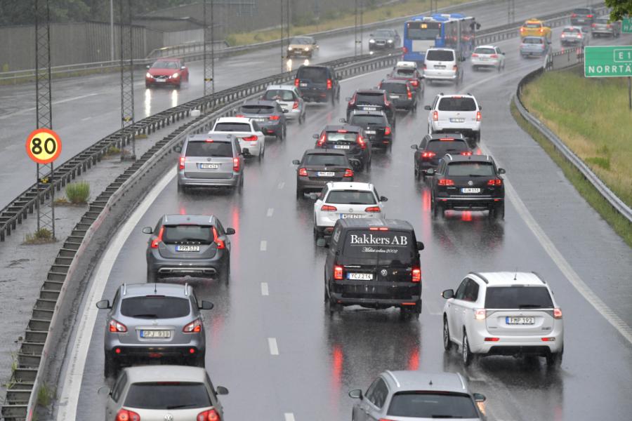Biltrafik värsta boven bakom luftföroreningar, enligt organisationen Transport & environment.