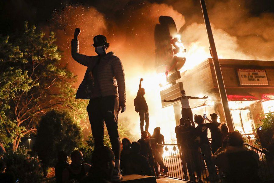 Protester i Minneapolis