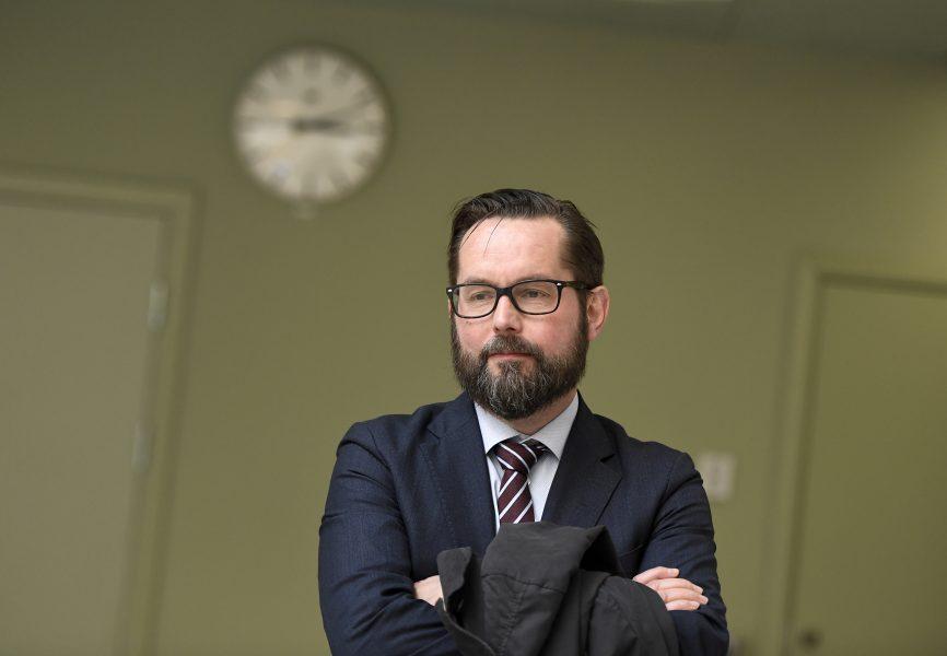 Per Lindqvist, chefsåklagare vid enheten för säkerhetsmål.