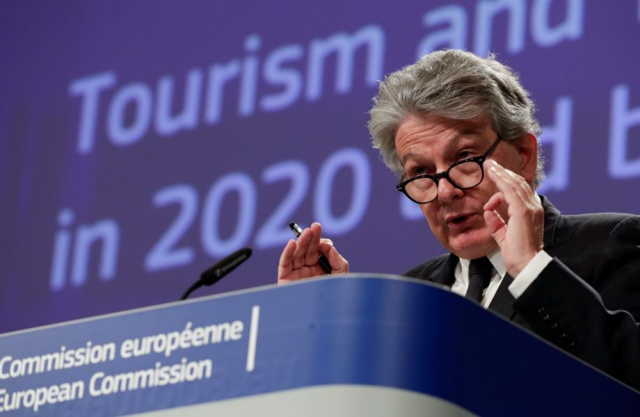 EU:s inremarknadskommissionär Thierry Breton ger via en ny EU-sajt klartecken till att transportera Sverige.