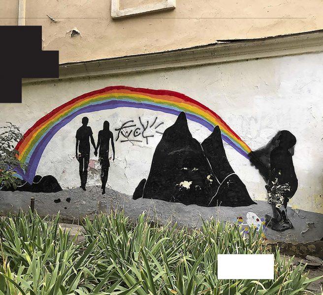 Homofobin är utbredd i Georgien.