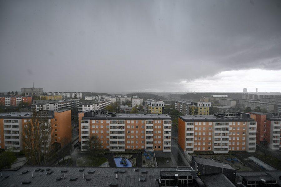 I Tensta ligger ett bostadsområde som uppfördes mellan 1966 och 1972 inom ramen för miljonprogrammet.