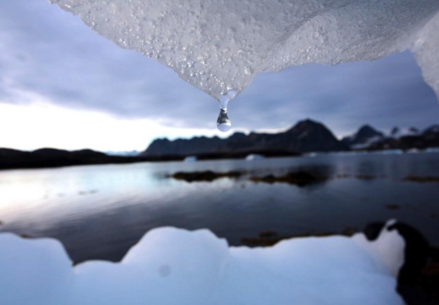 Enligt beräkningar stiger världshaven med cirka 80 meter om all is på jorden smälter.