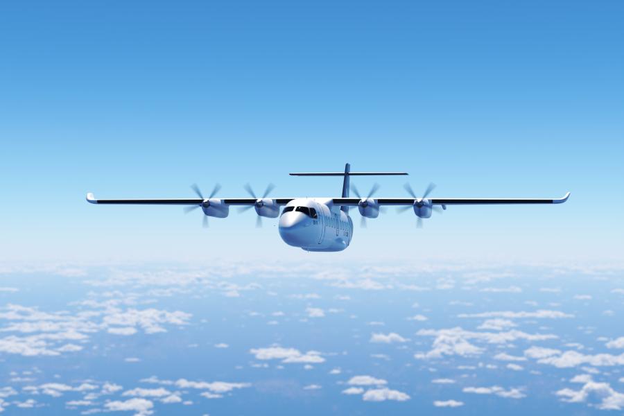 Svenskdesignade elflygplanet ES-19 rymmer 19 passagerare och ska sättas i kommersiell trafik år 2025.