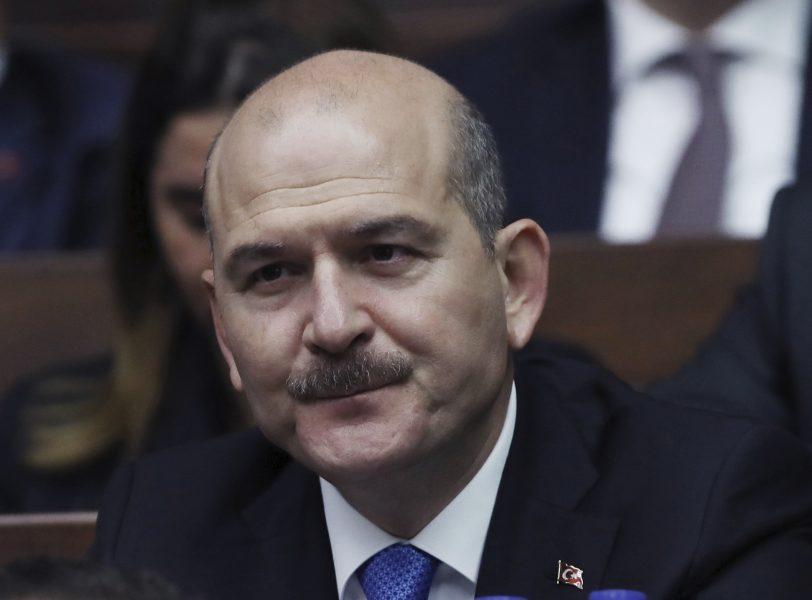Turkiets inrikesminister Süleyman Soylu.