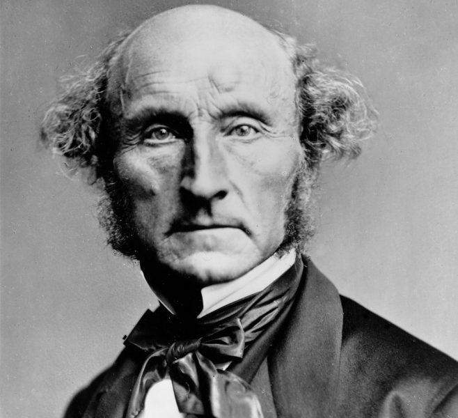 Liberalismens fader, John Stuart Mill (1806–1873).