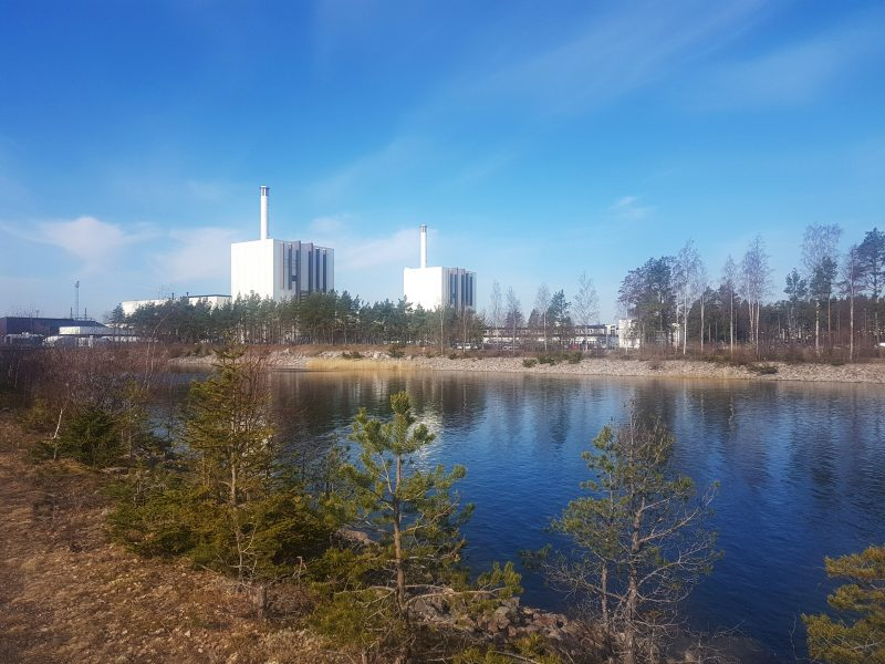 Forsmarks kärnkraftverk, beläget i Östhammars kommun.