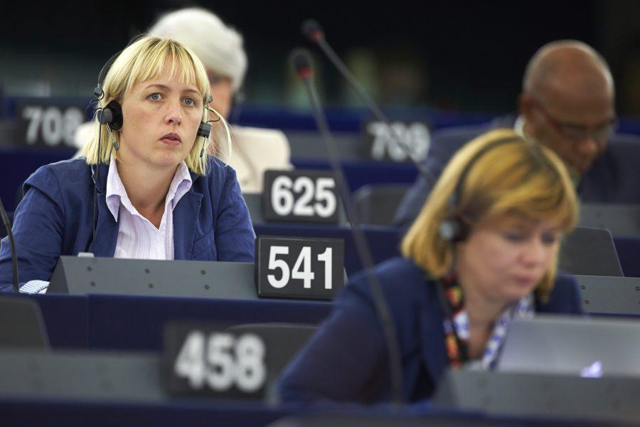 EU:parlamentarikern Jytte Guteland (S) har varit drivande i att höja ambitionsnivån i den klimatlag som EU nu ska rösta om.