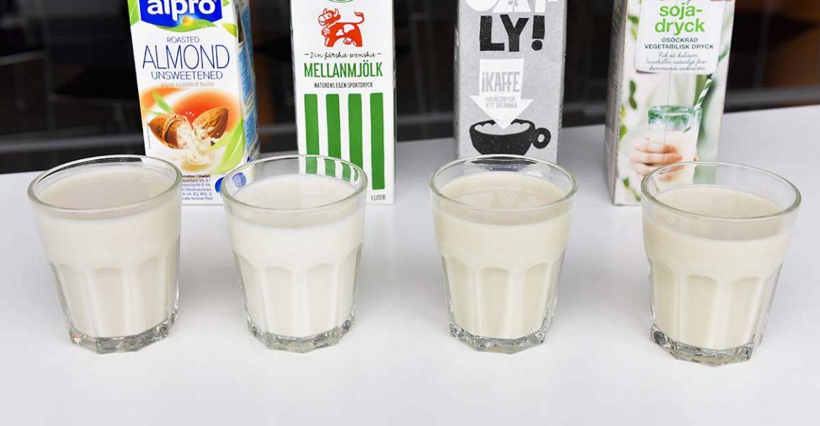 Havredryck och andra alternativ till komjölk blir allt populärare.