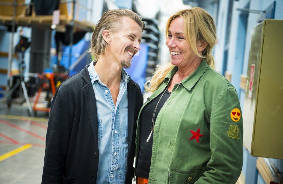 Paul Svensson och Anne Lundberg samarbetar i en ny programserie om växtbaserad mat.