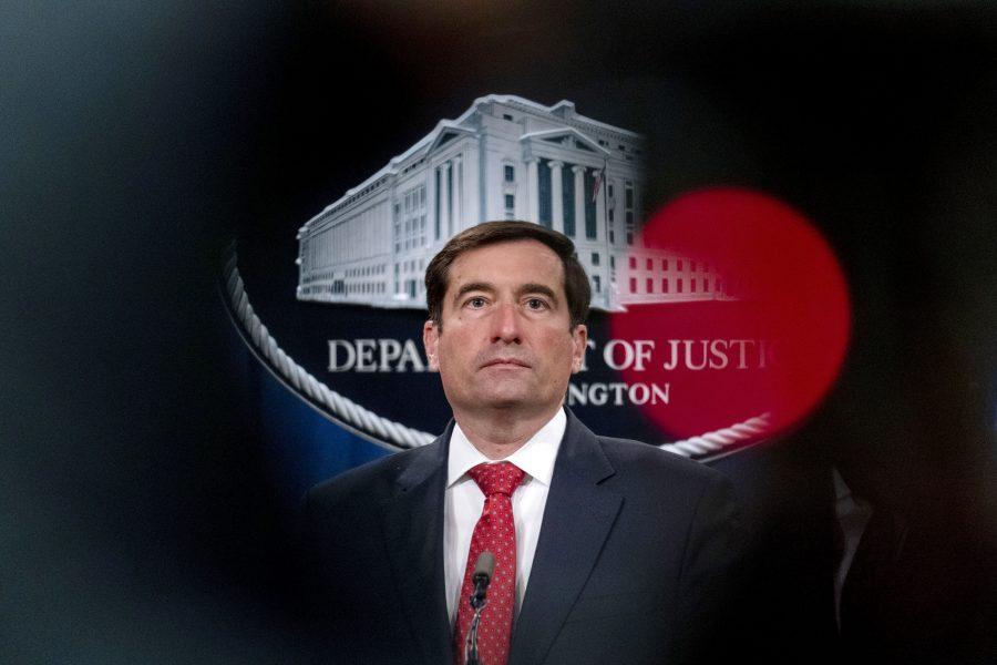 USA:s biträdande justitieminister John Demers.
