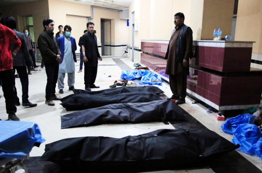 – De sköt mot varenda student de såg, sa vittnet Fathullah Moradi till Reuters, när beväpnade män  i början på november attackerade ett campus vid Kabul-universitetet i Afghanistans huvudstad.