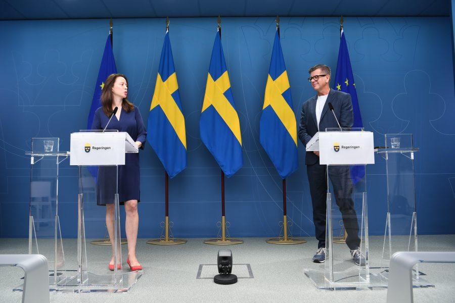 Jämställdhetsminister Åsa Lindhagen presenterade i augusti Lars Arrhenius som ny diskrimineringsombudsman, DO.